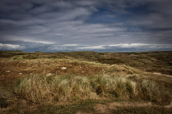 Photograph - Sand Dunes In Cornwall 2 by David Resnikoff