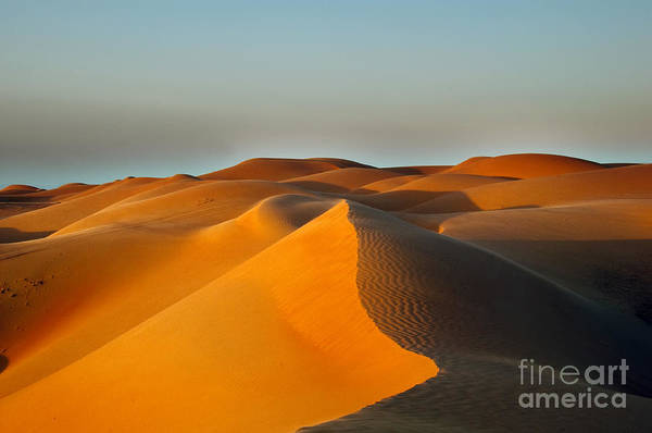 Wall Art - Photograph - Sand Dunes In Oman by Hainaultphoto