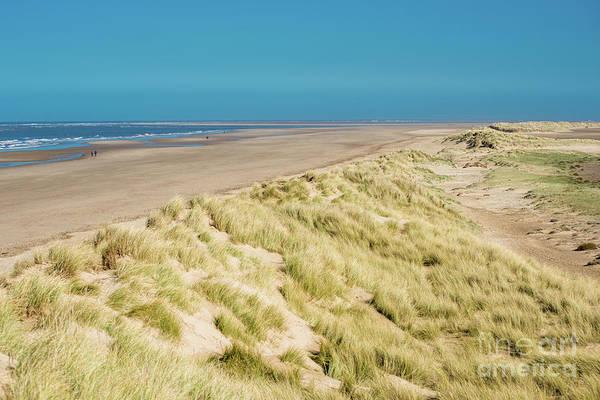 Wall Art - Photograph - Sand Dunes Running Along Holkham Bay by Andrew Michael