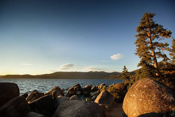Lake Tahoe Photograph - Sand Harbor State Beach, Lake Tahoe by Halbergman