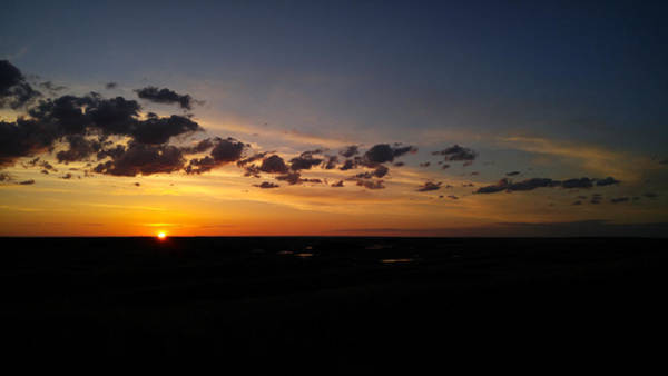 Photograph - Sand Hills Sunrise by Carl Young