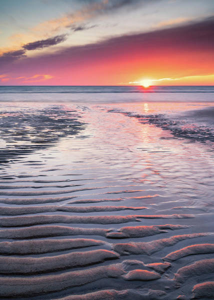 Photograph - Sand Patterns by Michael Blanchette