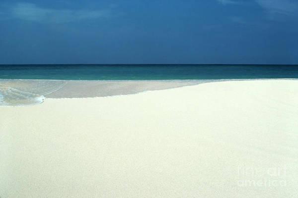Photograph - Sand Sea And Sky Waimanalo by Thomas R Fletcher