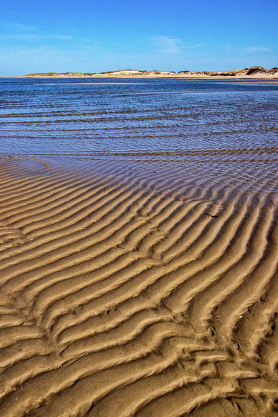 Photograph - Sand Textures At Cape Henlopen by Carolyn Derstine