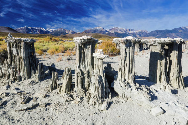 Wall Art - Photograph - Sand Tufa Formations On The South Shore by Russ Bishop