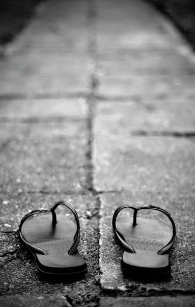 Flip Flops Photograph - Sandals by Photography På