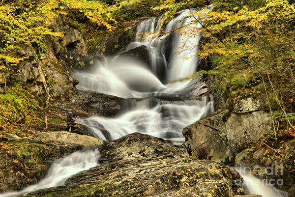 Photograph - Sanderson Brook Falls by Adam Jewell