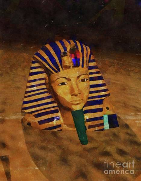 Wall Art - Painting - Sands Of Egypt by Mary Bassett