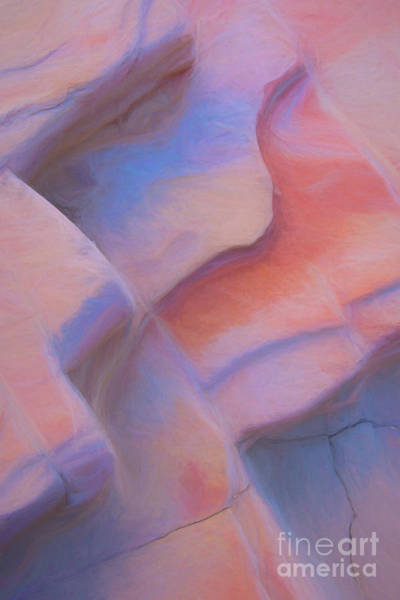 Photograph - Sandstone Cracks by Patti Schulze