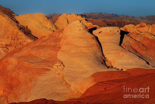 Photograph - Sandstone Formations In Valley Of Fire State Park Nevada by Dave Welling