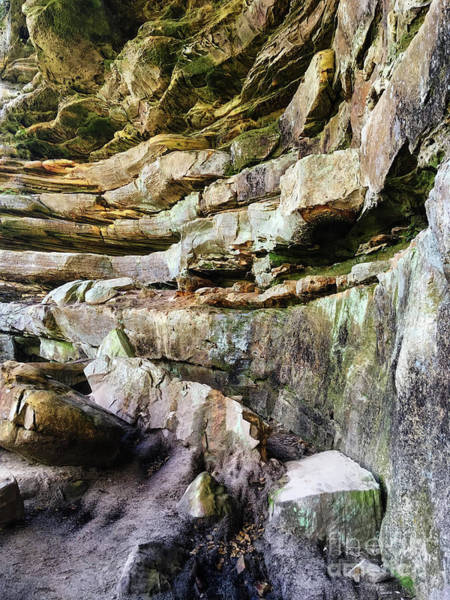 Photograph - Sandstone Layers by Phil Perkins