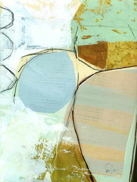 Sky Line Painting - Sandwashed #14 by Jane Davies