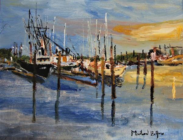 Painting - Sandwich Harbor by Michael Helfen