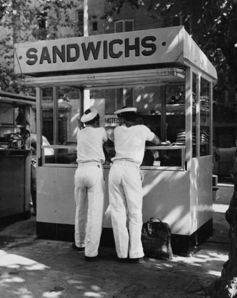 Uniform Photograph - Sandwiches Or Buns by Chris Ware