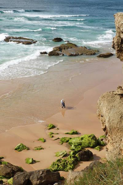 Wall Art - Photograph - Sandy Beach Beach Praia Do Monte Cl Rigo Parque Natural Do Sudoeste Alentejano E Costa Vicentina by imageBROKER - Martina Katz