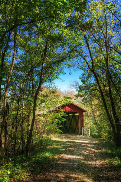Photograph - Sandy Creek Covered Bridge by Robert FERD Frank