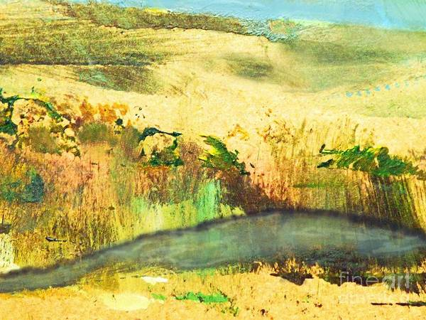 Dune Mixed Media - Sandy Landscape by Sharon Williams Eng