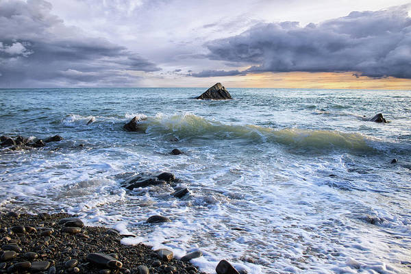 Wall Art - Photograph - Sandymouth Cove by Martin Newman