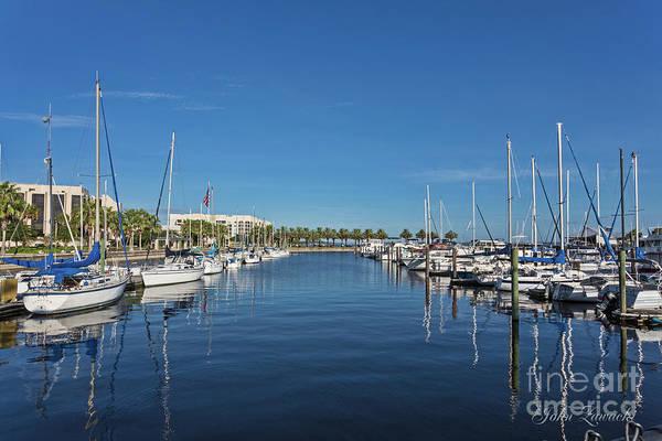 Photograph - Sanford-marina-6692 by John Zawacki