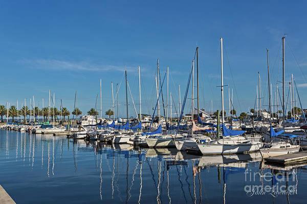 Photograph - Sanford-marina-6698 by John Zawacki