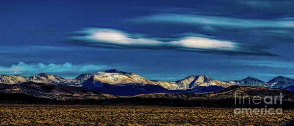 Photograph - Sangre De Cristo Mountain Evening by Jon Burch Photography