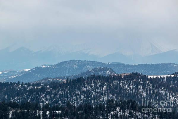 Photograph - Sangre De Cristo Winter Storm by Steve Krull