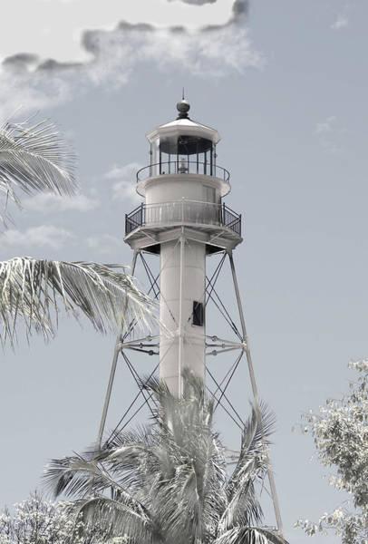 Wall Art - Photograph - Sanibel Lighthouse by Rosalie Scanlon