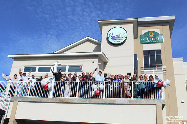 Photograph - Sanibel's Oceanside Ribbon Cutting by Robert Banach