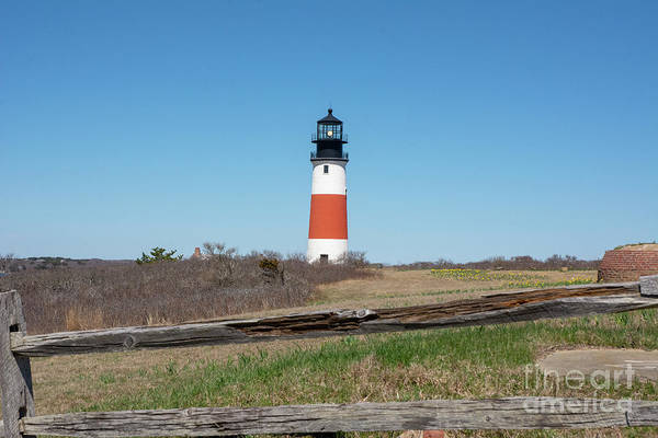 Photograph - Sankaty Head Light House by Ruth H Curtis