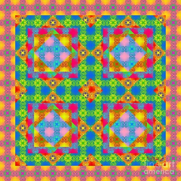 Digital Art - Sankofa Kaleidoscope 1 by Walter Neal
