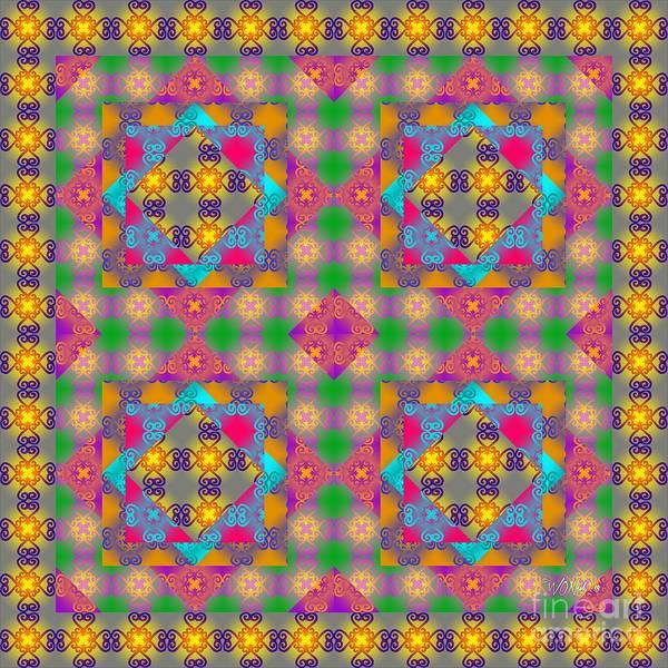 Digital Art - Sankofa Kaleidoscope 2 by Walter Neal