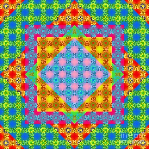 Digital Art - Sankofa Kaleidoscope Prime 1 by Walter Neal