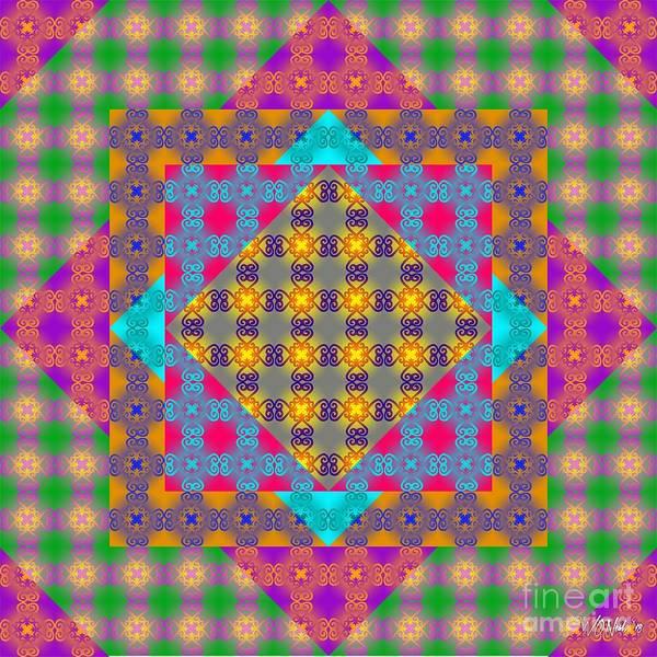 Digital Art - Sankofa Kaleidoscope Prime 2 by Walter Neal