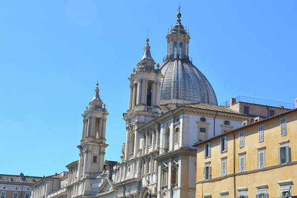 Photograph - Sant' Agnese In Agone  by JAMART Photography