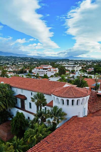 Photograph - Santa Barbara Courthouse Portrait by Kyle Hanson