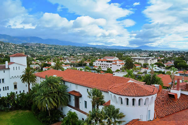 Photograph - Santa Barbara Courthouse View by Kyle Hanson