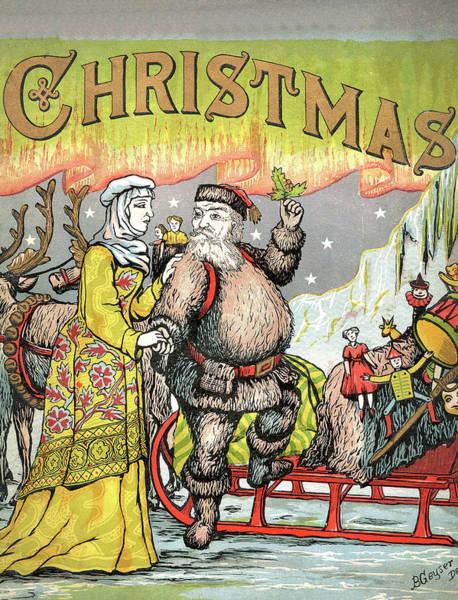 Christmas Gift Digital Art - Santa Claus With Christmas Toys by Long Shot