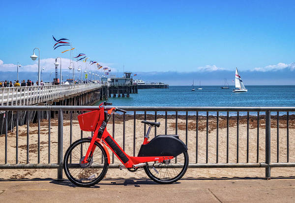 Photograph - Santa Cruz Wharf by Carolyn Derstine