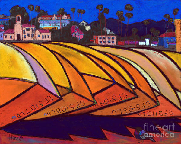 Santa Cruz Fisherman's Wharf Art Print