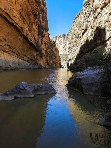 Photograph - Santa Elena Canyon And Rio Grande River by NaturesPix