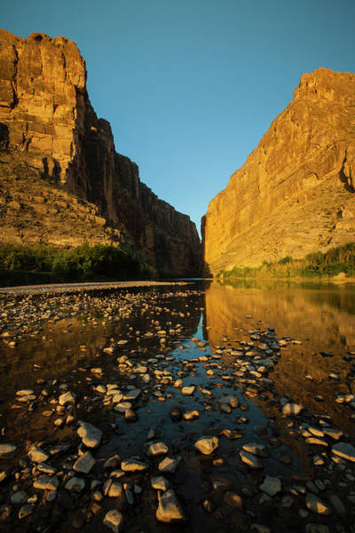 Wall Art - Photograph - Santa Elena Canyon On The Rio Grande by Larry Ditto