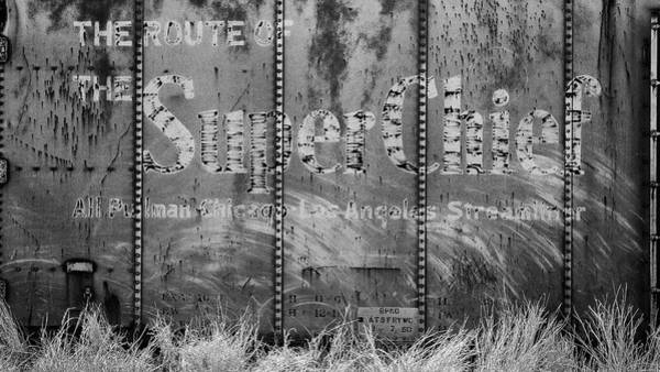 Wall Art - Photograph - Santa Fe Super Chief Boxcar - #2 by Stephen Stookey