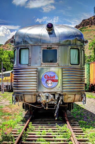 Railroad Wall Art - Photograph - Santa Fe Super Chief by G Wigler