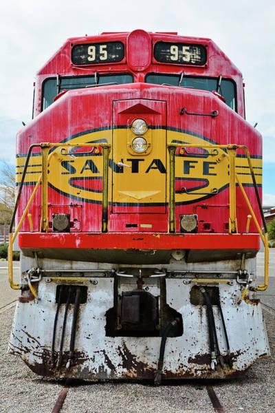 Photograph - Santa Fe Train Portrait by Kyle Hanson