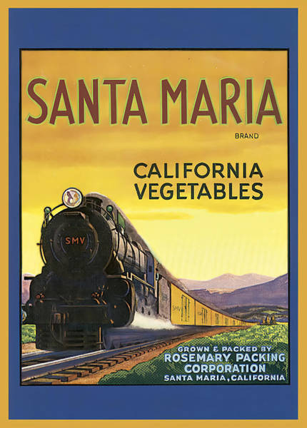 Photograph - Santa Maria California Vegetables by Studio Artist