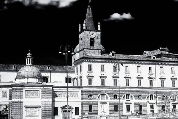 Photograph - Santa Maria Del Popolo In Rome by John Rizzuto