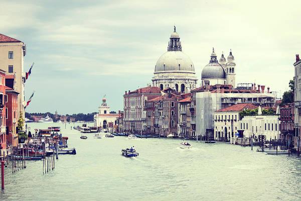 Christianity Photograph - Santa Maria Della Salute In Venice by Elisa Severi