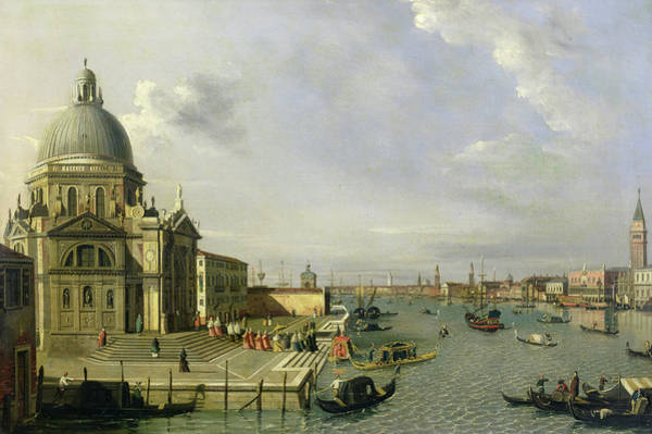 Wall Art - Painting - Santa Maria Della Salute, Venice by William James