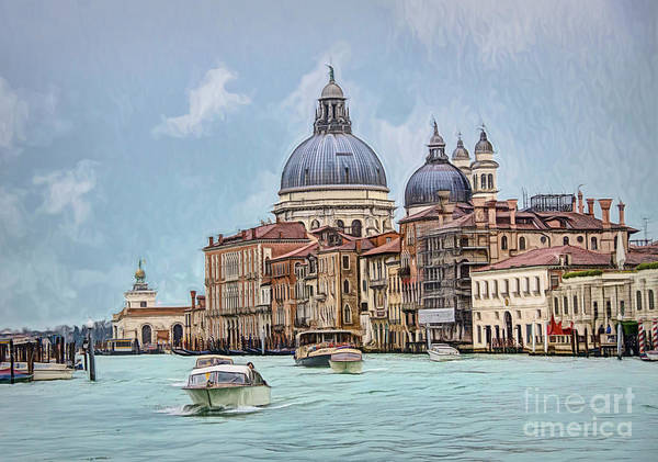 Digital Art - Santa Maria Della Salute, by Brian Tarr