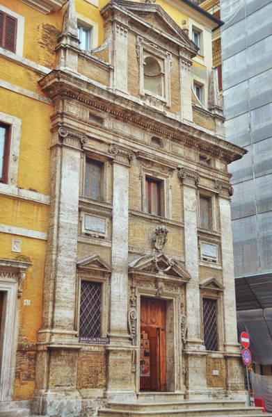 Photograph - Santa Maria In Trivio Rome by JAMART Photography